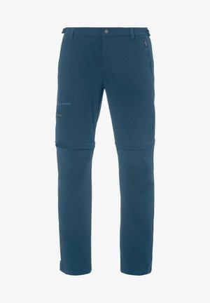 FARLEY T ZIP PANTS - Outdoor trousers - blau (296)