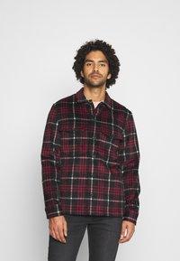 AllSaints - BERTHOLD  - Shirt - jet black/red - 0