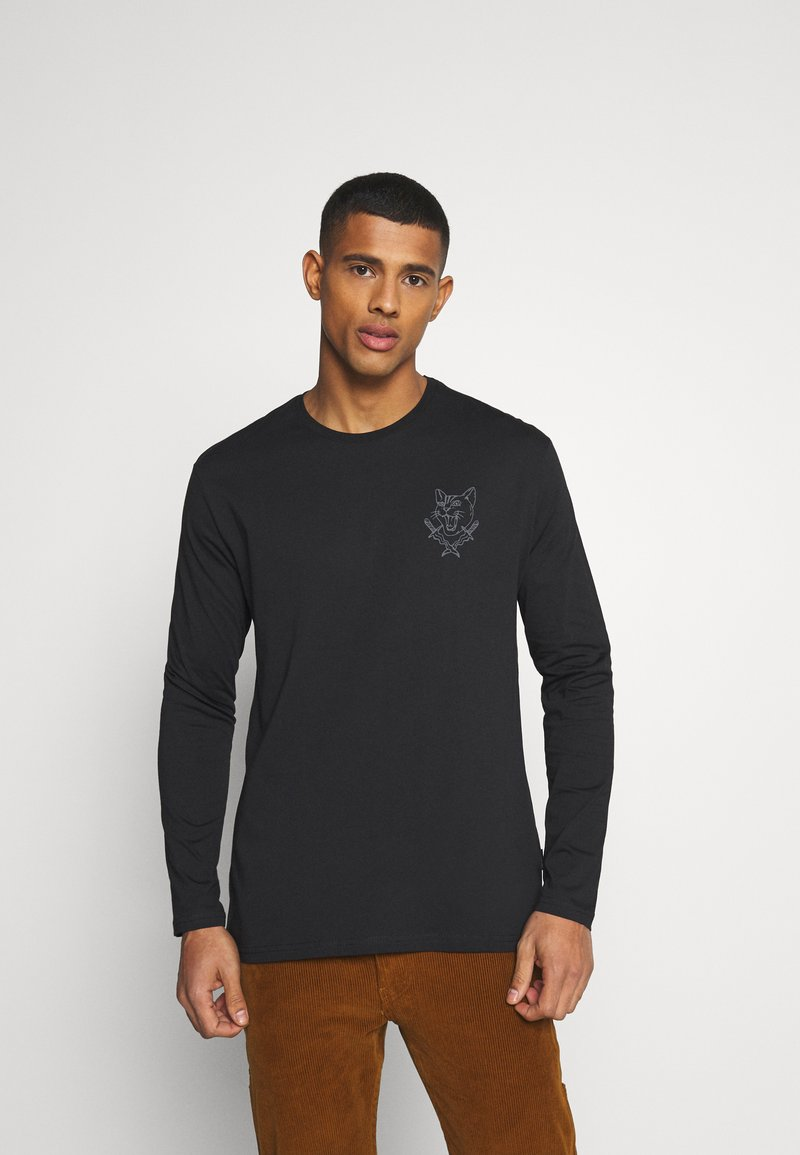 YOURTURN - UNISEX - Long sleeved top - black