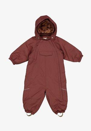 Snowsuit - maroon