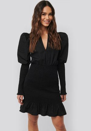 SMOCKED  - Cocktail dress / Party dress - black