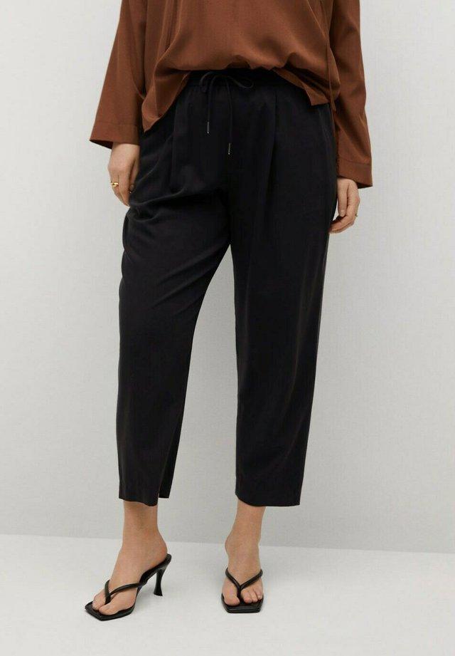FLUIDO - Pantalon de survêtement - noir