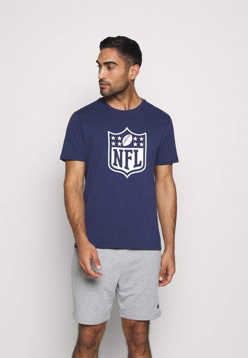 Fanatics - NFL LOGO CORE GRAPHIC - Club wear - navy