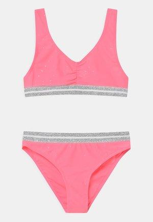 GIRL ELASTIC SET - Bikini - strawberry pink