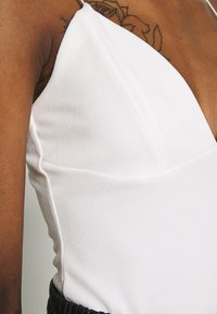 Nly by Nelly - THIN STRAP  - Topper - white - 5