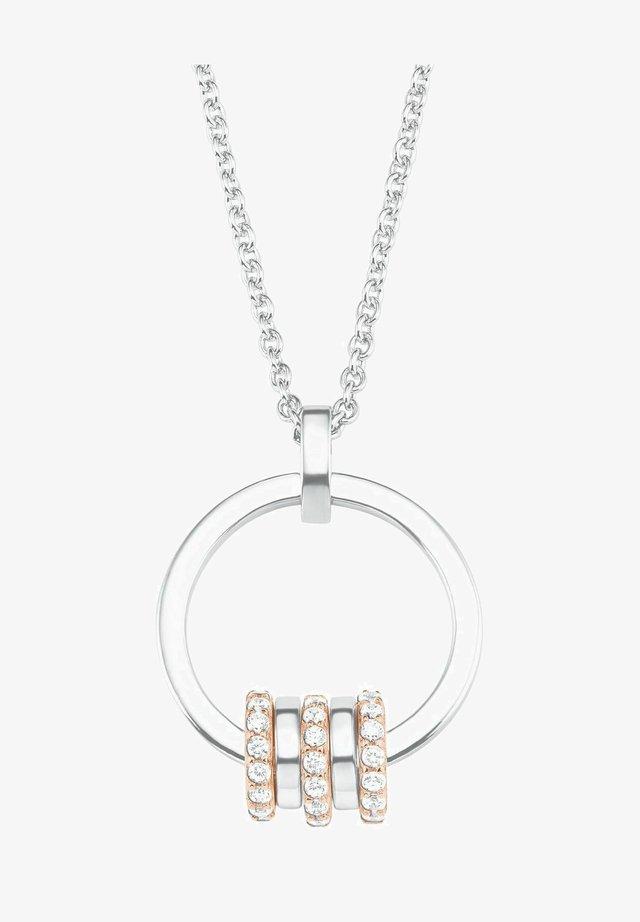 MIT ANHÄNGER FÜR DAMEN, 925 STERLING SILBER TEIL - Necklace - bicolor