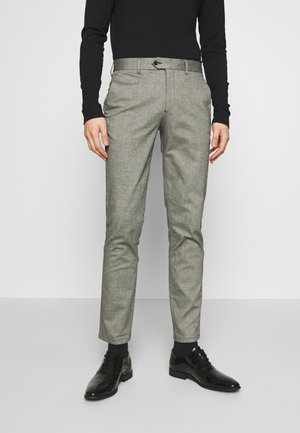 CARLO COTFLEX PANTS - Trousers - dark grey