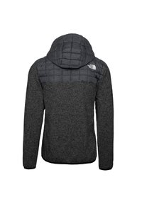 The North Face - M THERMOBALL GORDON LYONS HOODIE - Outdoorjas - tnf black-graphite grey-tnf dark grey heather - 1