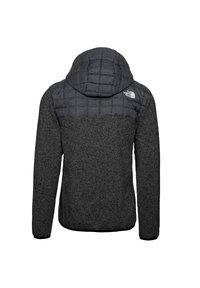 The North Face - M THERMOBALL GORDON LYONS HOODIE - Kurtka Outdoor - tnf black-graphite grey-tnf dark grey heather - 1