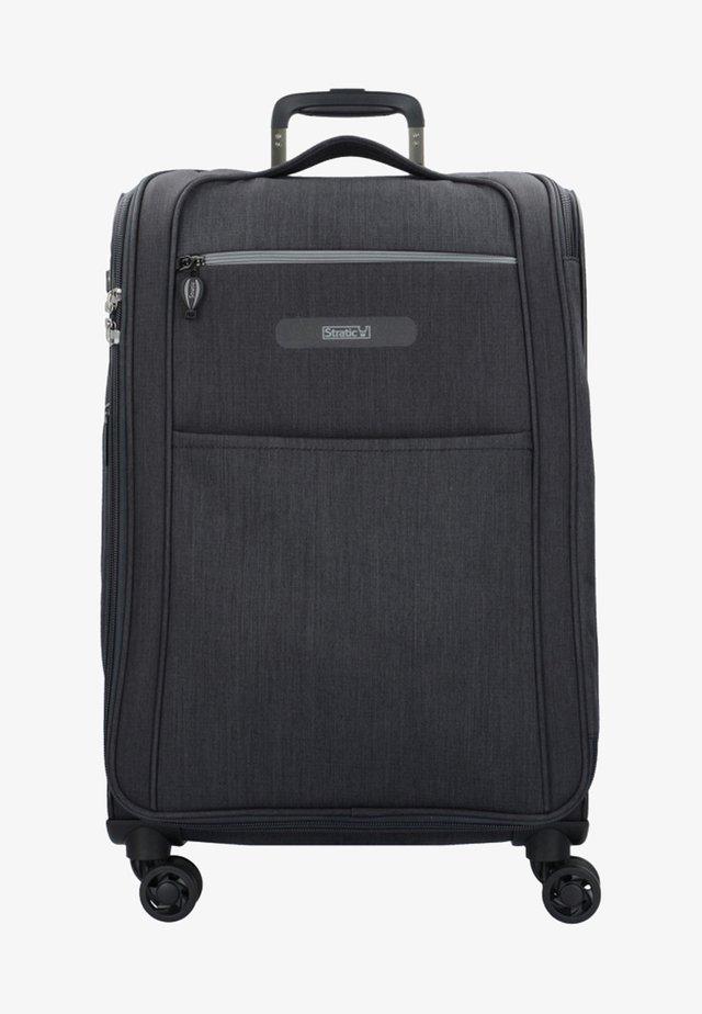 FLOATING - Wheeled suitcase - black