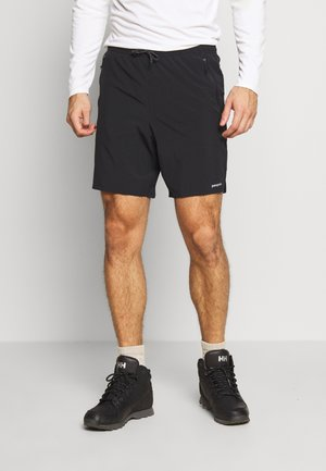 NINE TRAILS SHORTS - Sports shorts - black