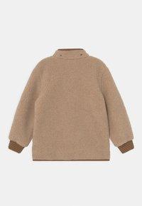 Finkid - TONTTU NALLE UNISEX - Fleece jacket - pebble/cinnamon - 2