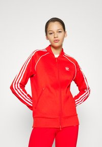 adidas Originals - TRACKTOP - Giubbotto Bomber - red - 0