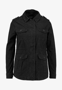 New Look - POCKET UTILITY SHACKET - Summer jacket - black - 4