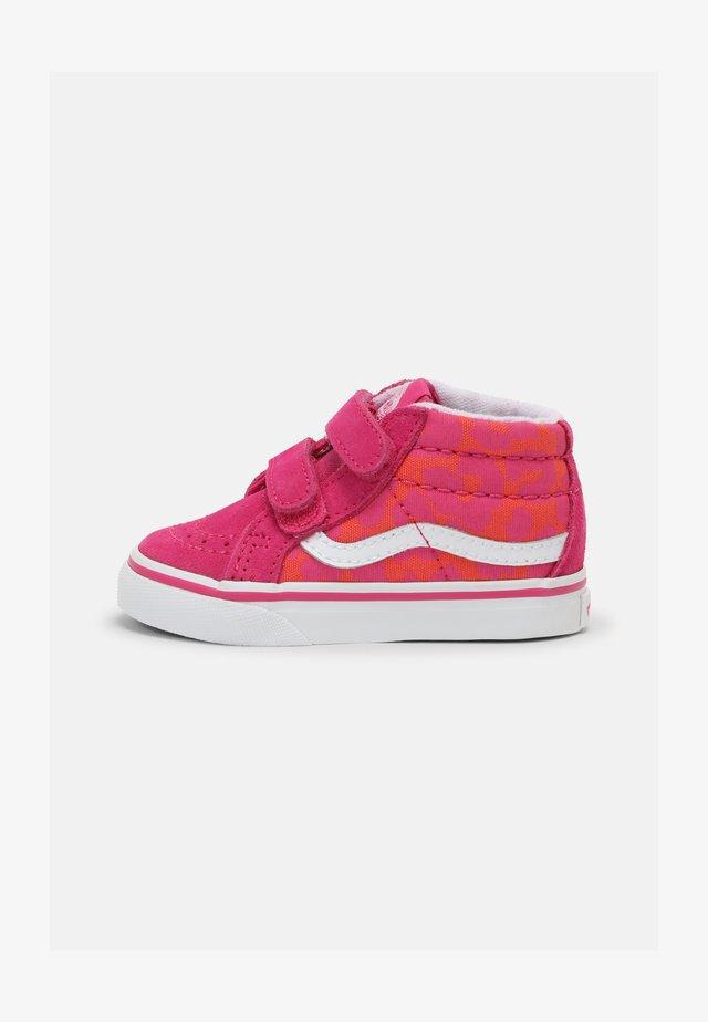 SK8-MID REISSUE - Sneakers hoog - neon animal leopard/pink