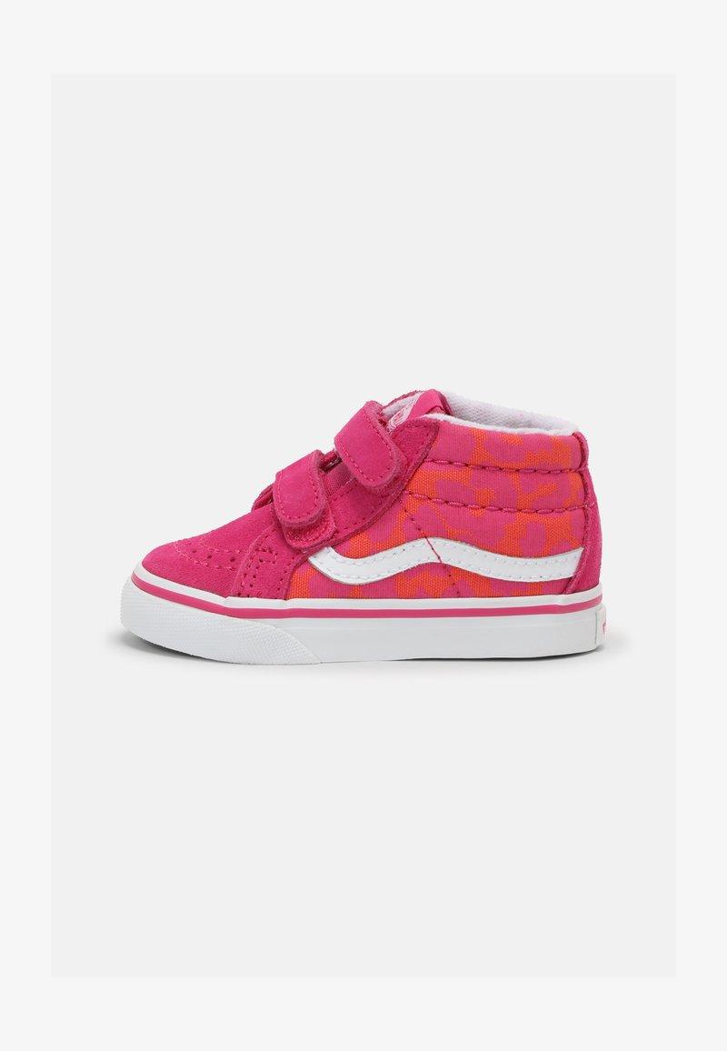 Vans - SK8-MID REISSUE - Sneakers hoog - neon animal leopard/pink