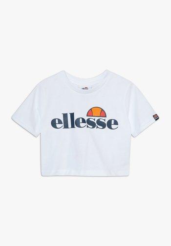 NICKY - Print T-shirt - white