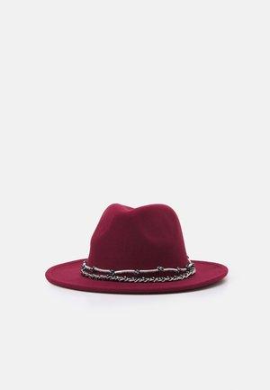 FEDORA UNISEX - Sombrero - bordeaux