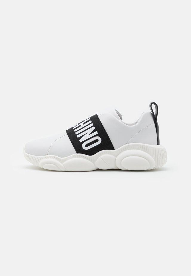 Baskets basses - bianco