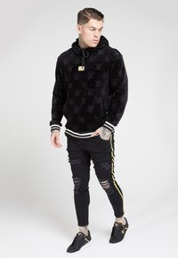 SIKSILK - DISTRESSED TAPED - Jeans Skinny Fit - washed black - 1