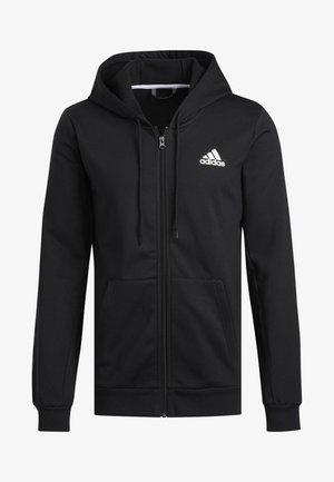 SPT B-BALL SWEATSHIRT - Zip-up hoodie - black