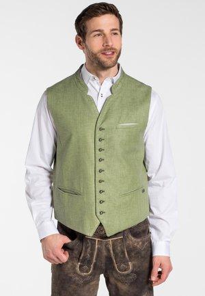 KREUZ - Waistcoat - green