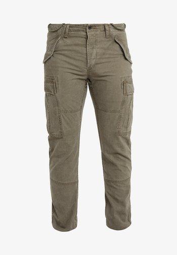 Pantalon cargo - british olive