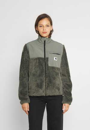 JACKSON JACKET - Light jacket - thyme/black