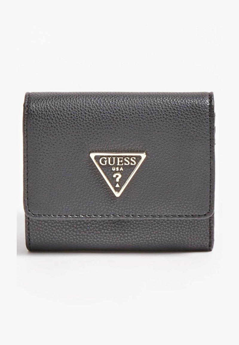 Guess - KIRBY TRIANGLE LOGO - Wallet - schwarz