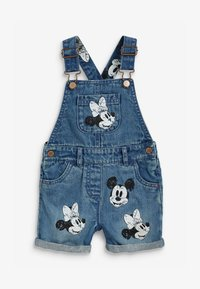 Next - DISNEY MICKEY AND MINNIE MOUSE - Dungarees - blue - 0