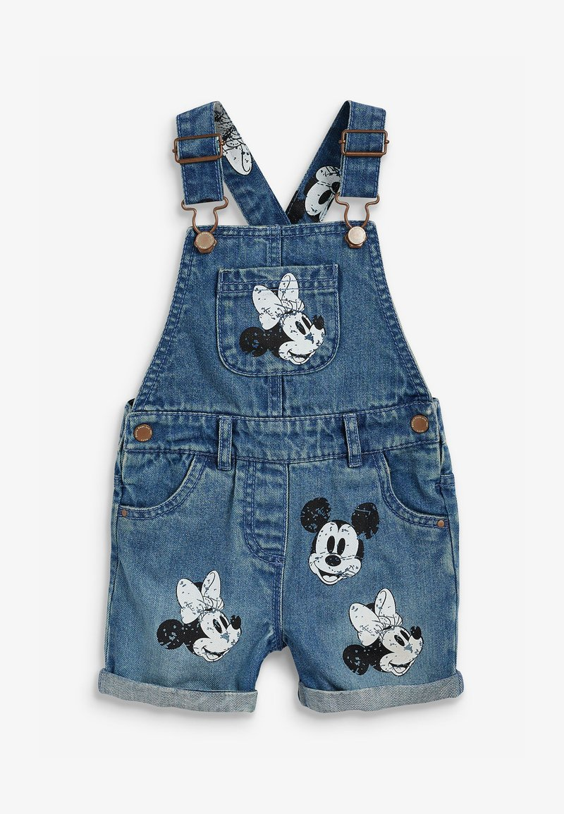 Next - DISNEY MICKEY AND MINNIE MOUSE - Dungarees - blue