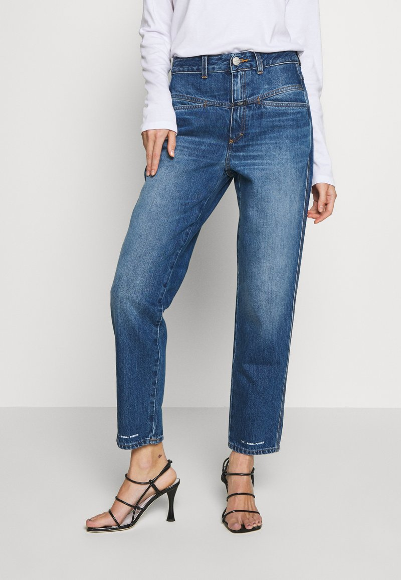 CLOSED - PEDAL PUSHER - Relaxed fit jeans - mid blue
