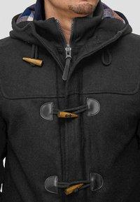 INDICODE JEANS - ERVIN - Short coat - charcoal mix - 3