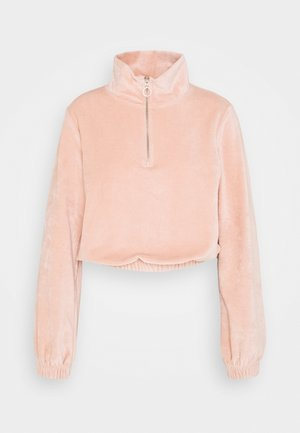 ONLJACKIE ZIPPER - Sweatshirt - misty rose