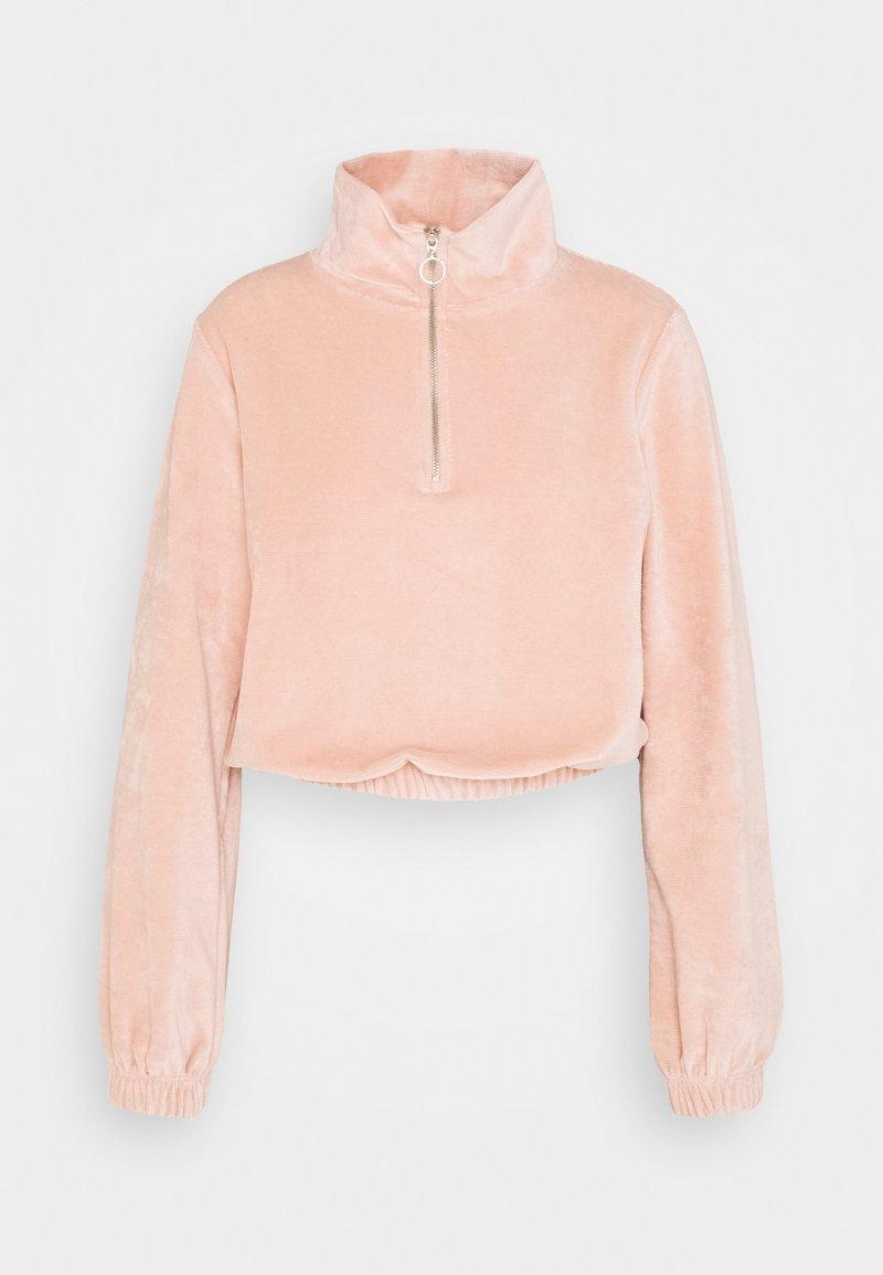 ONLY - ONLJACKIE ZIPPER - Sweatshirt - misty rose