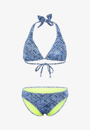 LEICHT GERIPPTER QUALITÄT - Bikini - blue