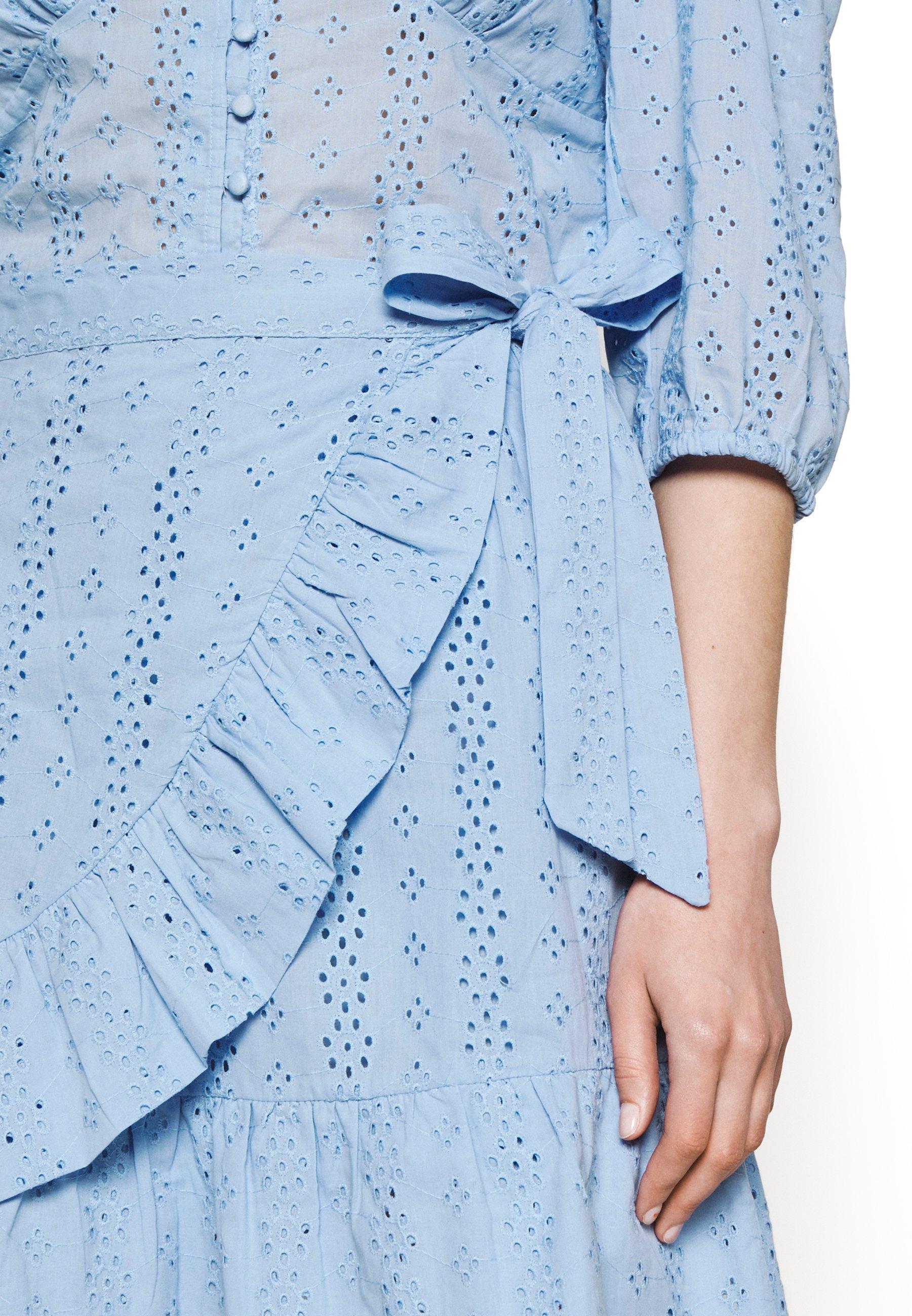 Women SHELBY BROIDERIE ANGLAISE SKIRT - Wrap skirt