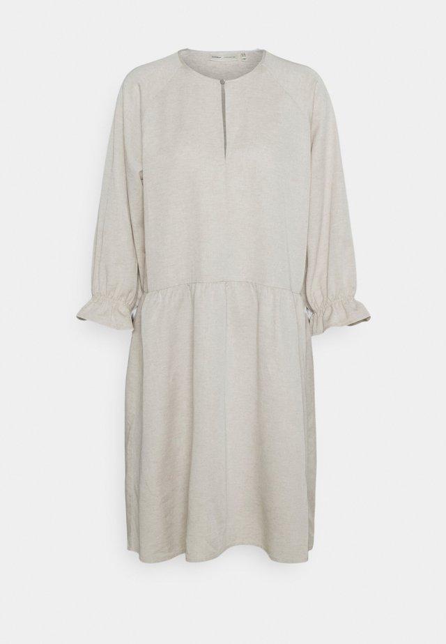 TUNICDRESS - Korte jurk - ecru
