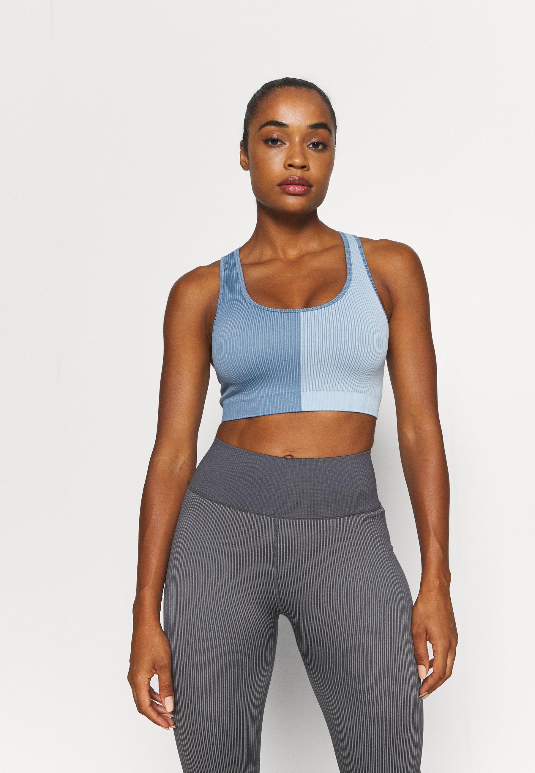 Women SEAMLESS RACER CROP - Light support sports bra