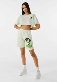 Bershka - POWERPUFF GIRLS - Short - green - 1