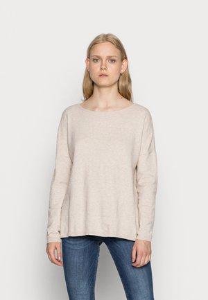 Sweter - pumice stone/melange