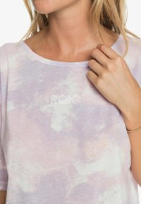 Roxy - Print T-shirt - orchid petal fly time - 4