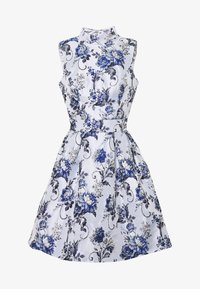 Chi Chi London Petite - CELOWEN DRESS - Sukienka koktajlowa - blue - 4