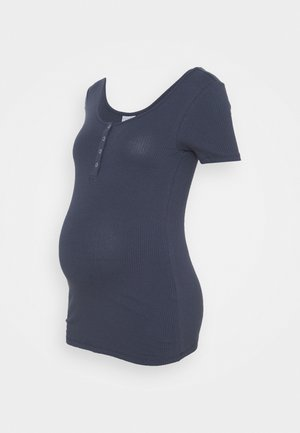 PCMKITTE  - T-shirts basic - ombre blue