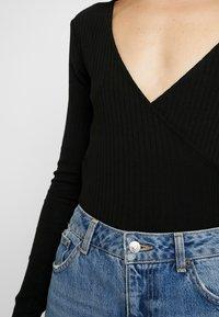 Even&Odd - BODYSUIT BASIC - T-shirt à manches longues - black - 4