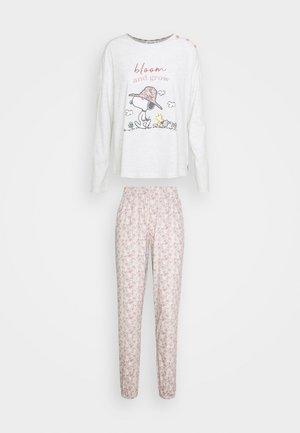 SNOOPY COTTAGE LONG BLOOM PJ SET - Pijama - multicolor