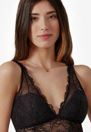 Triangle bra - black