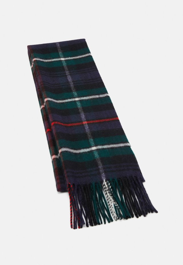 100% Cashmere Tartan Scarf - Scarf - green/multi-coloured