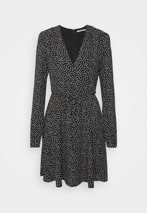 LARGE FLORAL - Robe d'été - black