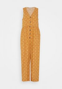 Madewell - TANK BUTTON FRONT CHALLIS IN FLORAL - Jumpsuit - vine floral mulled cider - 4